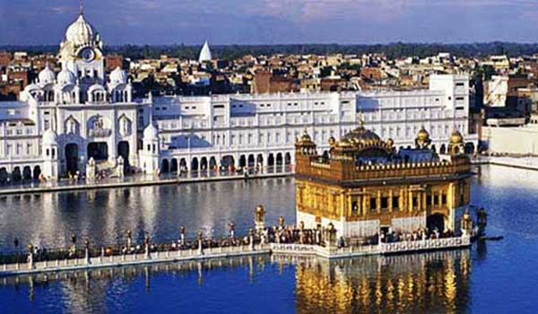 All himachal with golden temple
